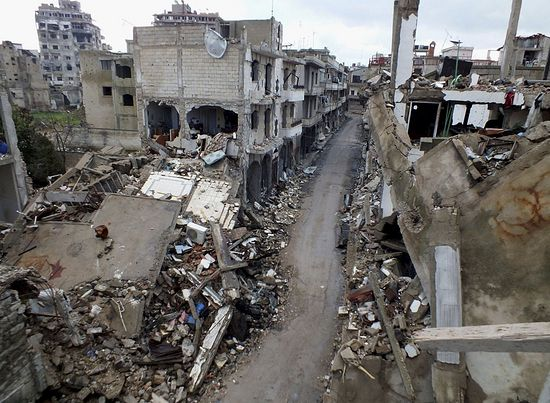 The city of Homs