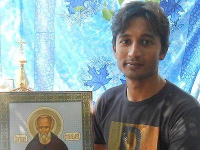 Как стал православным пакистанец Санавар Марк