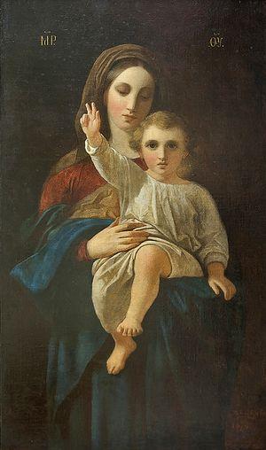 Икона Божией Матери кисти Даниила Болотова