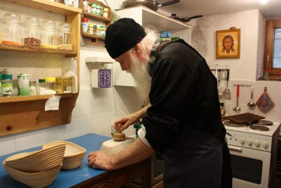 Fr. Gabriel Bunge in his monastery in Switzerland.
