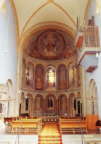 The Church of St. Gereon, apse.
