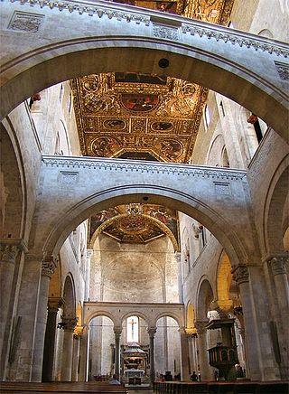 St. Nicholas Cathedral, Bari, Italy.