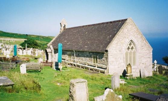 Церковь св. Тудно в Лландидно, Уэльс