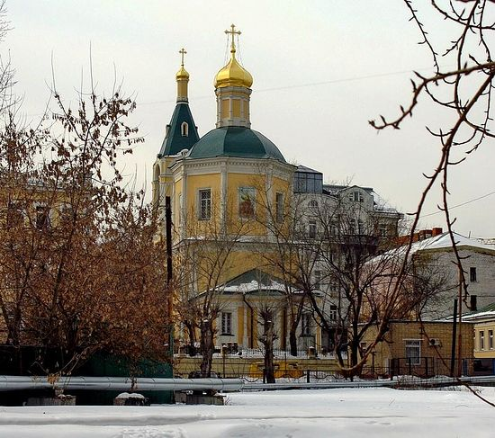 Храм Ильи Пророка в Обыденском переулке.
