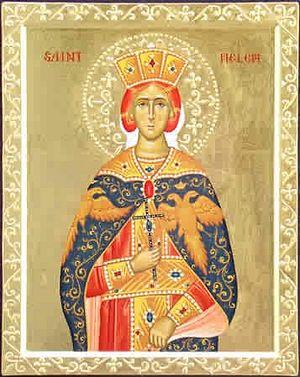 Святая равноапостольная Елена (автор- мать Иустина, свято-Елизаветинский монастырь, Этна, Калифорния)