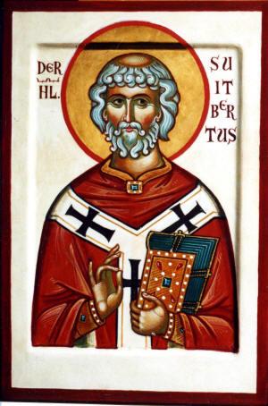 Святой Свитберт.