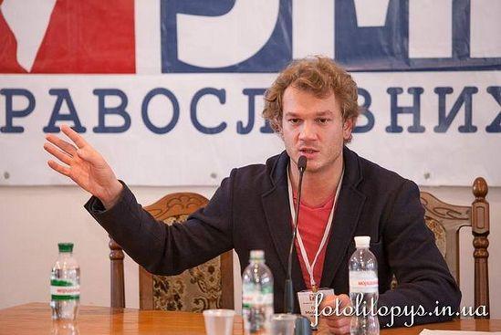 Павел Клочков на презентации портала church.ua