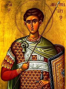 Holy Great Martyr Demetrios the Myrrh-streamer