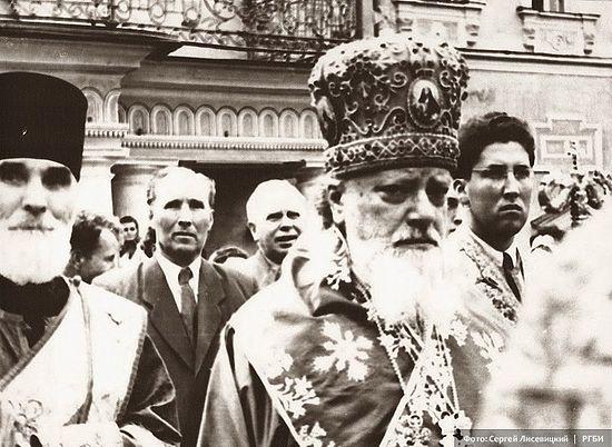 Святейший Патриарх Московский и Всея Руси Алексий I. 18 июля 1954 г. Фото: С.Н. Лисевицкий