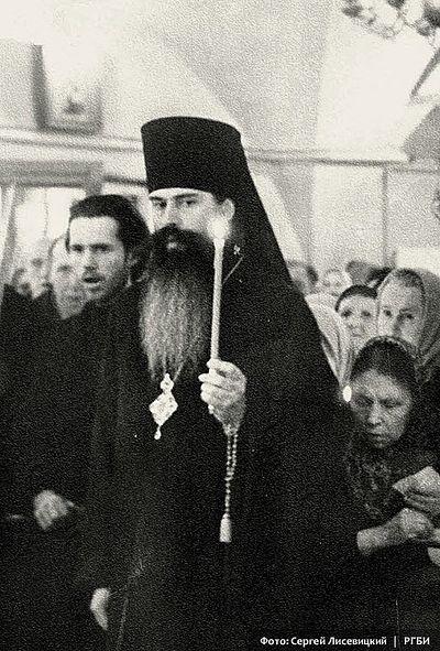 Архиепископ Питирим (Нечаев). 7 апреля 1968 г. Фото: С.Н. Лисевицкий