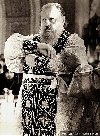 Облачение Патриарха Пимена. 3 июня 1971 г. Фото: С.Н. Лисевицкий