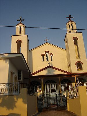 Храм в Ексохи