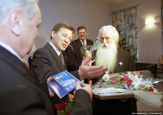 На 75-летии владыки Питирима. Фото: М. Юрченко / Православие.Ru
