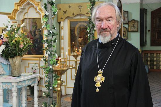 священник Николай Попов