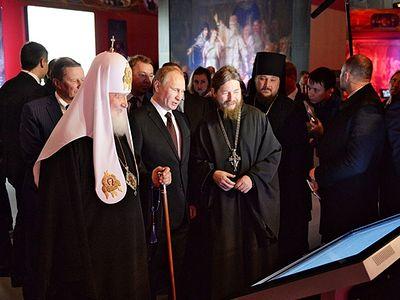 Патриарх Кирилл возглавил церемонию открытия XII выставки-форума «Православная Русь — ко Дню народного единства»