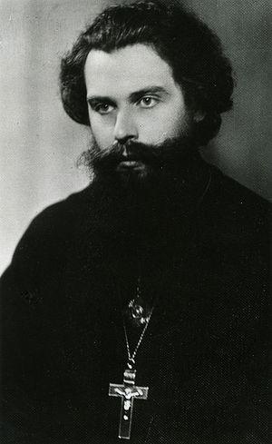 Священник Константин Нечаев. 1954 г.
