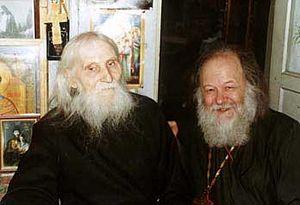 Старец Николай Гурьянов и отец Валериан Кречетов