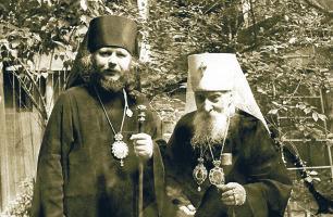Митрополит Мануил (Лемешевский) и митрополит Иоанн (Снычев)