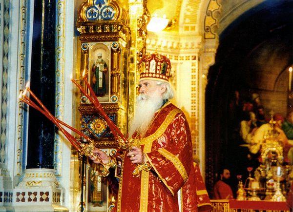 Пасха Христова. Храм Христа Спасителя. 27 апреля 2003 г.