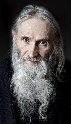 Старец Илий. Фотохудожник И.И.Жук.