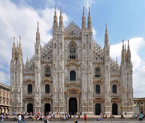 Миланский Дуомо.