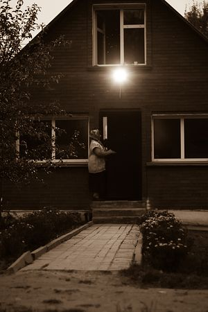 Домики, в которых живут матушка и насельницы