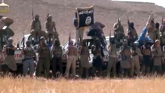 """Боевики """"Исламского государства в Ираке и Шаме"""""""