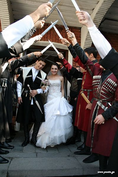 A Georgian wedding.
