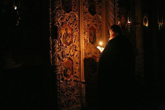 На шестопсалмии. Фото: Клыково.Ru