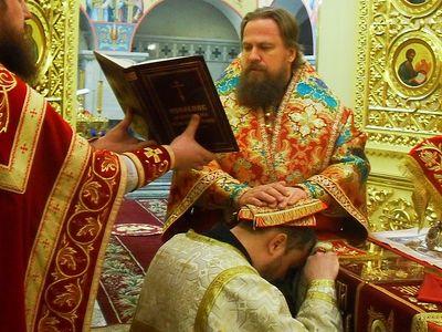 Рукоположение в христианство