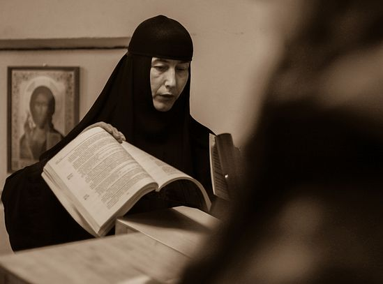 Игуменья Свято-Елисаветинского монастыря матушка Евфросиния (Лаптик)