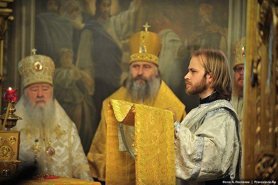 Перед рукоположением. Фото: А. Поспелов / Православие.Ru