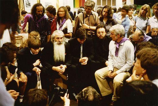 Встреча с молодежью Германии. Ганновер. Октябрь 1983 г.