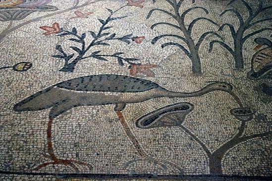 Византийская мозаика в базилике в Табхе