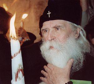 Схождение Благодатного огня. Великая Суббота. Иерусалим. 2003 г.