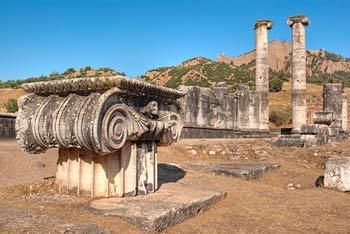 Сарды. Руины храма Артемиды