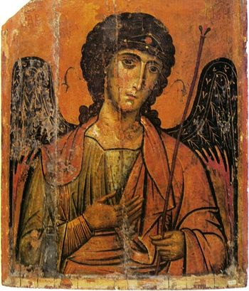 Icon. Early 13th century