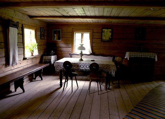 В деревенском доме. Литва