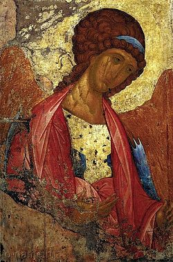 Archangel Michael. Icon. Andrei Rublev