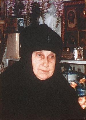 Схимонахиня Мария