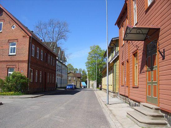 Улица Вильянди.