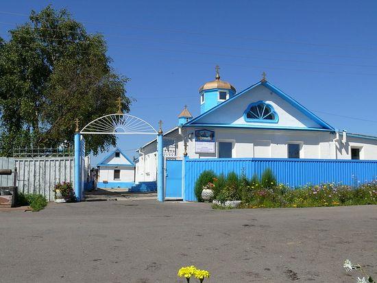 Храм в честь Успения Пресвятой Богородицы в г. Комсомольске-на-Амуре