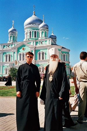 В Серафимо-Дивеевском монастыре. 2003 г.