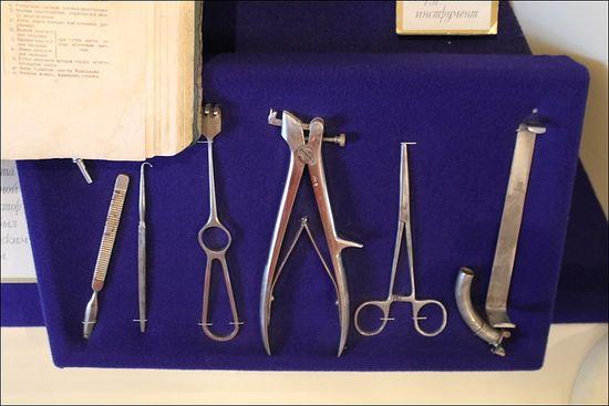 Хирургические инструменты, которыми пользовался Даль во время военной кампании. Фото: varjag-2007.livejournal.com/