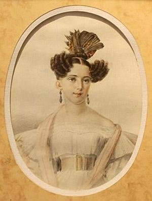 Юлия Андре, жена В.И. Даля