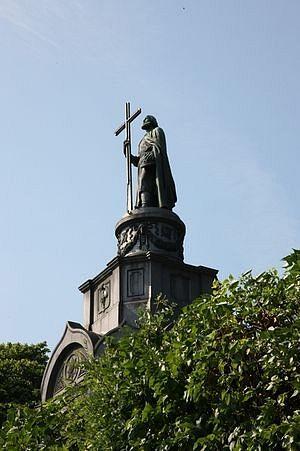 Владимирска горка, Кијев, споменик светом равноапостолном кнезу Владимиру