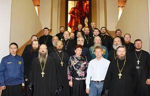 Во время сбора военных священников в Новосибирском гарнизоне Пресс-служба ЦВО
