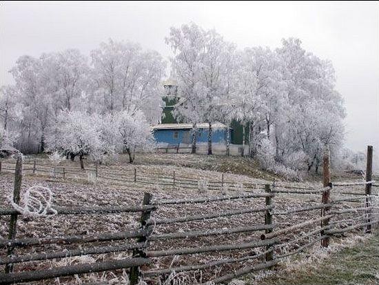 Храм в Смолянах, где служил о.Александр Морозов
