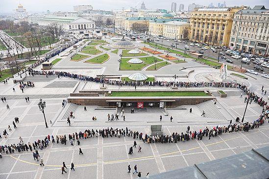Ред за изложбу. Фото: Photoxpress/Комсомолска правда