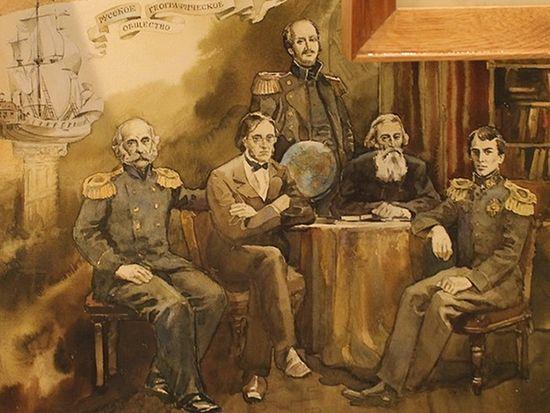 19 сентября 1845 года на квартире Даля произошло создание Русского Географического Общества